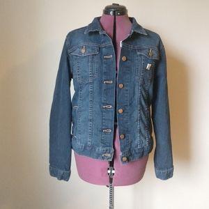 Carhartt Jean Jacket size Large 12/14